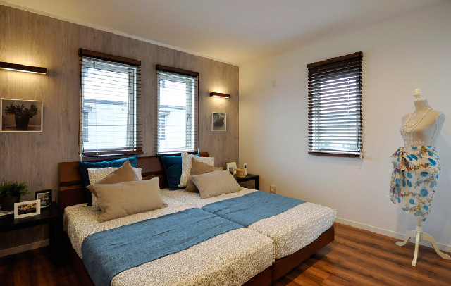 充実の主寝室!